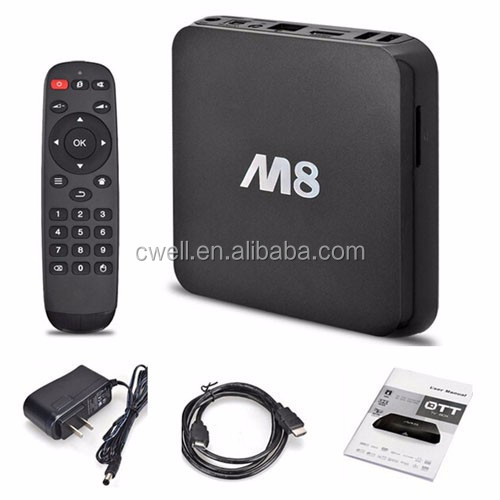 M8 4K Kitkat Android TV Box