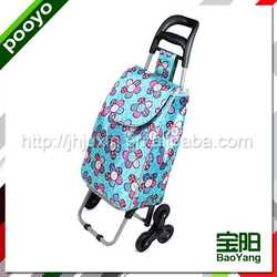 vegetable shopping trolley bag promotional pp woven recycling shopping bags