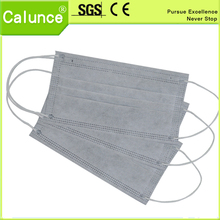4 ply disposable active carbon nonwoven face mask and imported raw materials,cleanroom masks