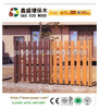 Eco friendly good selling outdoor engineered WPC composite fence panels