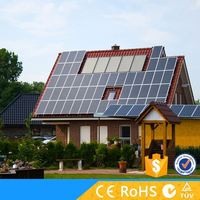 3KW stand alone solar electricity generating system for home with battery backup