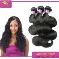 2015 grade 7A no shedding wavy no split end ponytail Peruvian human hair