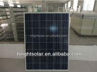 poly crystalline Silicon Material high efficiency solar panel 200w a grade photovoltaic module