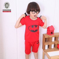 2013 spring kid clothes real bat pattern designer clothing for kids