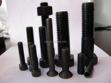 Hexagon bolts din933 and din 931,with din 934 nuts a325, a490,A563, precisely modified by lathe and annealded heat treatment