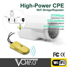 SHENZHEN factory priceFactory Price Vonets 300Mbps VAP11G-500 high power cpe wifi bridge