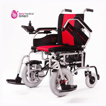 Cheap foldable electric wheelchair for handicapped