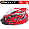Nuckily red cycling protective helmet fashion design safety helmet