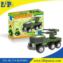 Military series missile car building blocks toy for kids