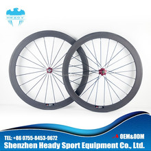 Best seller!!! Toray full carbon 50mm road bicycle carbon wheel,carbon bike wheel clincher and tubular