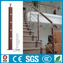 wooden interior stair railings for home decor