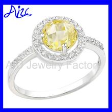 Excellent quality elegant topaz gemstone ring
