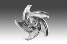 stainless steel pump impeller open style