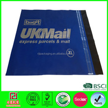 Colorful printing plastic customized adhesive shipping bags