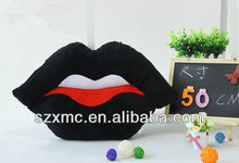 Sexy lip type decorative pillow, personalized sofa pillow, chair cushion