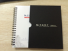new design office supply cheap bulk plastic cover notebook
