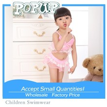 sunshine young lady girls Swimwear hot sale sexy bikini children yarn swimsuit
