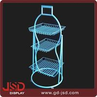 High quality factory direct price China fruit and vegetable display stand/shelving/rack wholesale