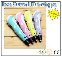 Super silence design 3D drawing pen / 3D drawing gift ball pen / 3d print drawing pen