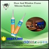 Acetic mould-proof silicone sealant, Ideal for window and door frames