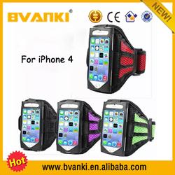 Alibaba Express Neoprene Key Pocket Armband For iPhone 4 Mesh Armband Case High Quality Waterproof Sport Armband For iPhone 4