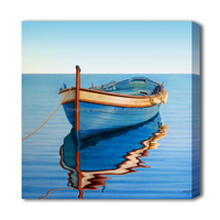 Art hand boat paintings on canvas decorative furniture painting