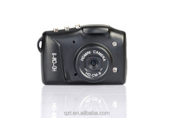 CM-8 wireless MINI hidden camera with night vision user manual for mini dv & Smallest portable camera
