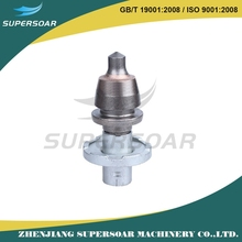 strong abrasive resistance tungsten carbide cutter pick shaped bits of medium or large road milling machine