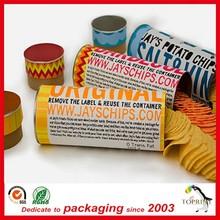 2015 New item Colorful popular Eco-friend Round food packaging cardboard tubes custom box