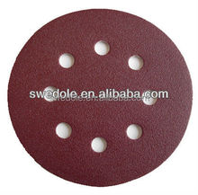 10 pcs sanding disc of a bag/completely packing abrasive sanding discs