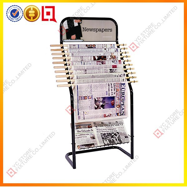 Wall Mounted Newspaper Holder Metal Wall Mounted Newspaper