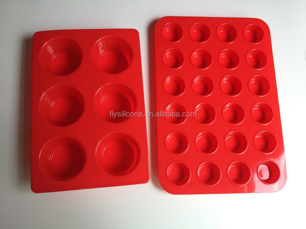 DIY cupcake / desset cup set /silicone cake molds