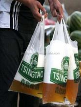 Bag! T-shirt shopping plastic bag! Cheap price printing t-shirt shopping plastic bag for packaging