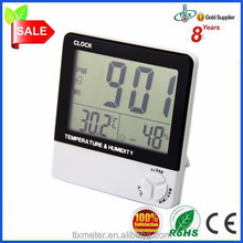 China Supplier Digital Plastic Garden Clock Thermometer