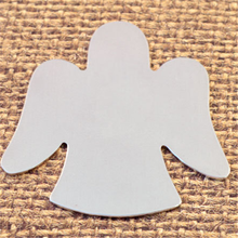 Yiwu Aceon Stainless Steel Angel Christmas Ornament Blanks For Hand Stamping