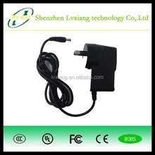 LV2015 hot!!! 5V1A 5W conversion head switching power adapter with EU UK US AU plugs