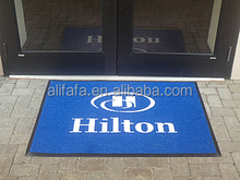 Customized Hotel Logo Carpet with Rubber Backing