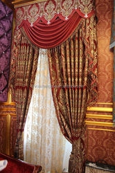 2015 china wholesale ready made curtain,american curtain designs