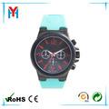 China fabricante reloj del silicio del deporte de los hombres