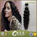 Enrollamiento jerry peinados tejer bebé curl weave barato bruto armadura malasia del pelo