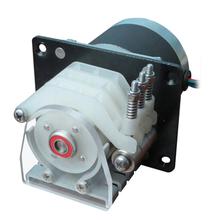 Lead Fluid three channels OEM peristaltic pump :DW10-3 pump head+stepper motor