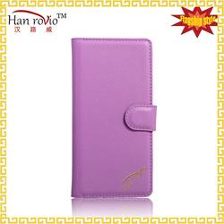 Best Price PU leather case for Vivo X6 Shenzhen Flip cover case supplier