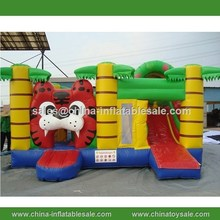 Guangzhou Competitive Price Tiger Model used commercial inflatable bouncer for sale H1-0666