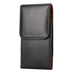New Heavy Duty Vertical Leather Belt Clip Pouch Holster Case For Samsung Galaxy Note 4