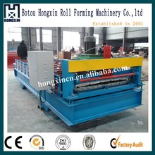 Iron sheet making machine / ibr color steel iron roofing sheet roll forming making machine /roller former