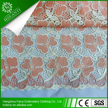 2015 big heavy african nigerian cord lace fabric/guipure lace fabric for THANKSGIVING dresses
