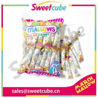 3g halal twisted marshmallow candy