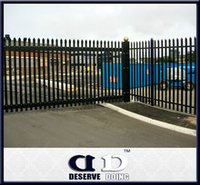 Beautiful design Metal Palisade Fences and Gates with high quality