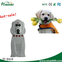 Dog Training Collar with LED by shock and vibration for Two Dogs D428