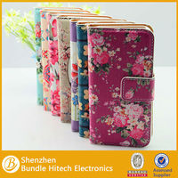 Protective PU Leather Case for apple iPhone 5s,leather flip case for iphone 5